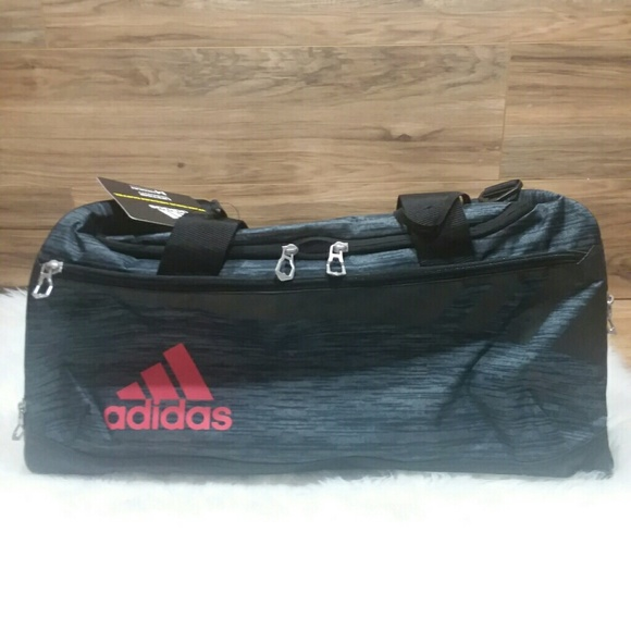 87ea30b519 NWT Adidas Team Issue Medium Duffle Travel Gym Bag